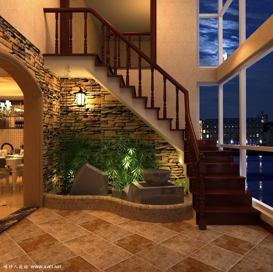 廊坊别墅楼梯